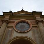 La faccita del complesso abbaziale di San Pietro