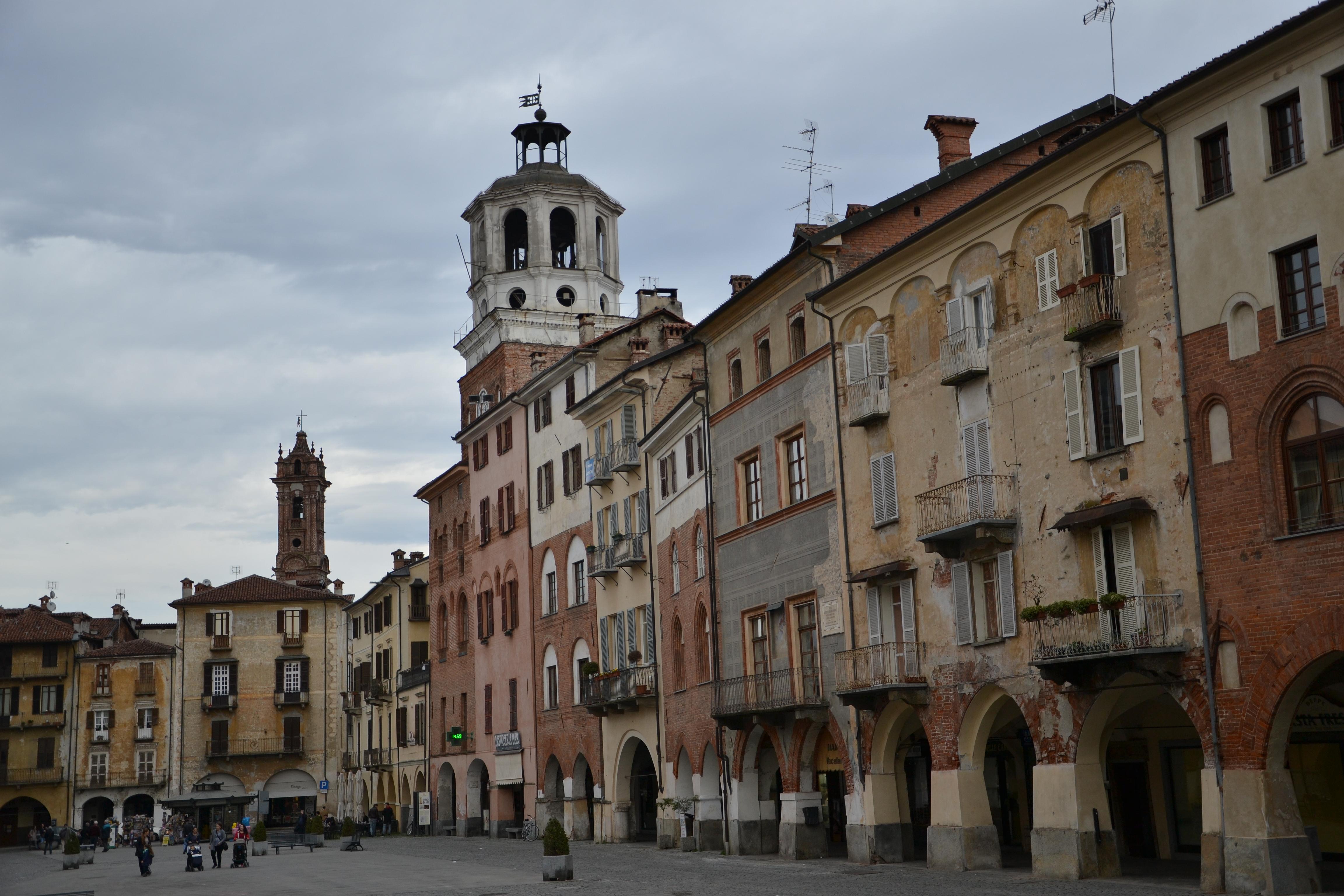 Piazza Santa Rosa, considerata una delle più belle piazza d'Italia