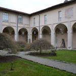 Chiostro del complesso abbaziale di S. Pietro